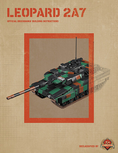 Leopard 2A7 - Digital Building Instructions