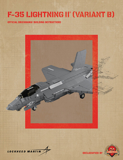 F-35 LIGHTNING II® (Variant B) - Digital Building Instructions