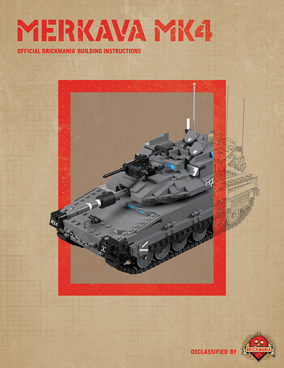 Merkava MK4 - Digital Building Instructions