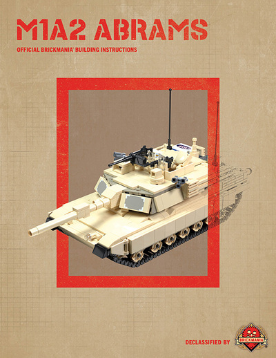 M1A2 Abrams - Digital Building Instructions