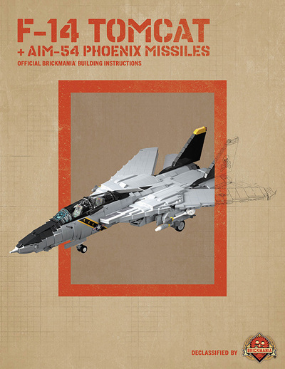 F-14 Tomcat - Digital Building Instructions