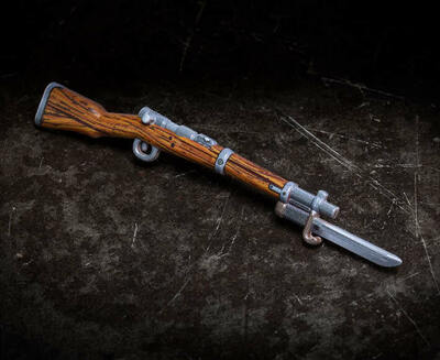 Perfect Caliber™ BrickArms® Arisaka Rifle with Bayonet