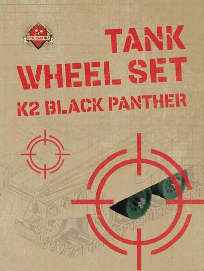Tank Wheel Set - K2 Black Panther