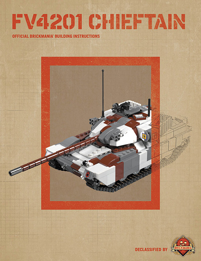 FV4201 Chieftain - Digital Building Instructions