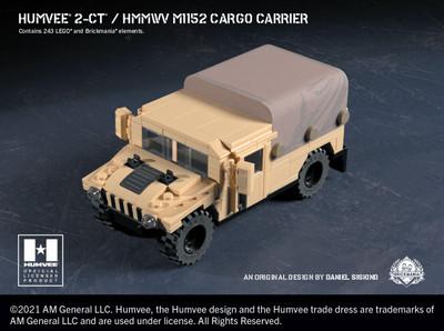 Humvee® 2-CT™ - HMMWV M1152 Cargo Carrier