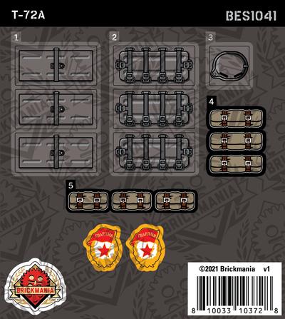 T-72a (BKE1041) - Sticker Pack