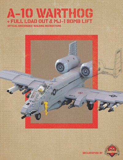 A-10 Warthog - Digital Building Instructions