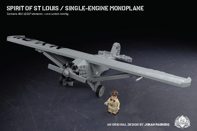 Spirit of St. Louis - Single-Engine Monoplane