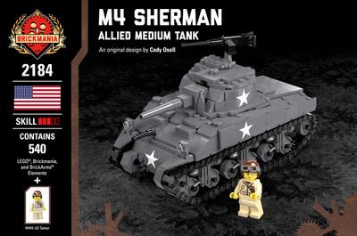 M4 Sherman + Mine Flail Pack - Allied Medium Tank