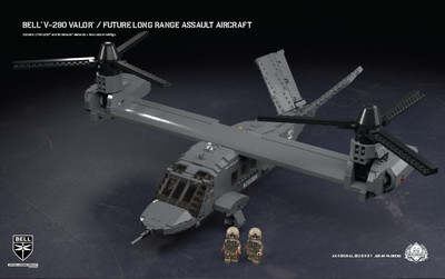Bell® V-280 Valor® - Future Long Range Assault Aircraft