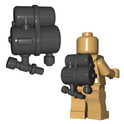 BrickWarriors Flammenwerfer Tank