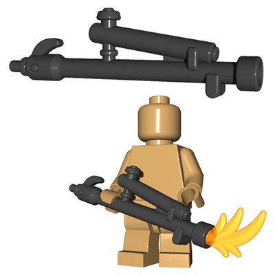 BrickWarriors Flammenwerfer