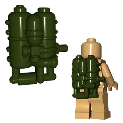 BrickWarriors US Flame Tank