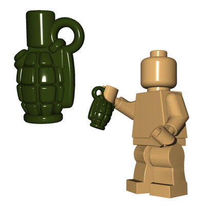 BrickWarriors Allies Grenade
