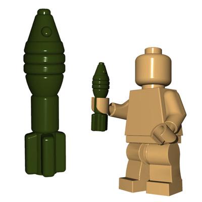 BrickWarriors Mortar Shell