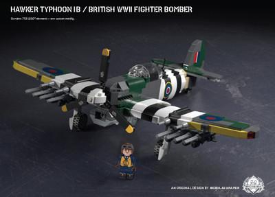 Hawker Typhoon IB – British WWII Fighter Bomber