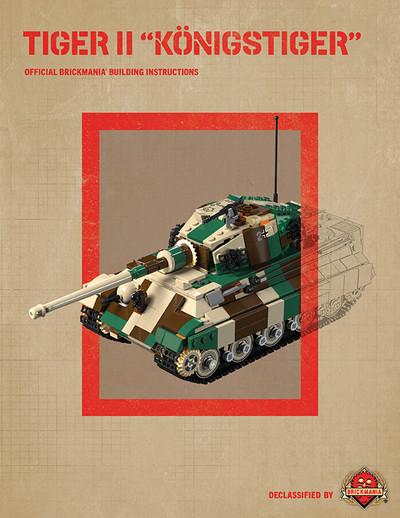 """Tiger II """"Königstiger"""" - Digital Building Instructions"""