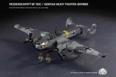 Messerschmitt Bf 110C - German Heavy Fighter-Bomber