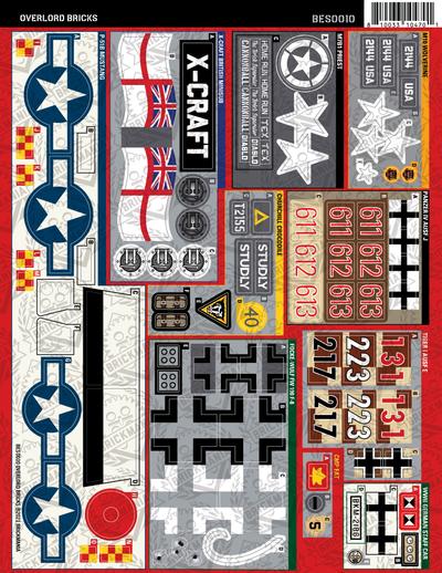 Overlord Bricks - Sticker Pack