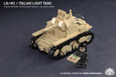 L6/40 - Italian Light Tank