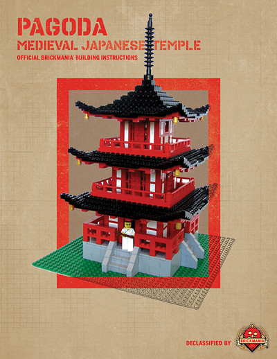 Pagoda: Medieval Japanese Temple - Digital Building Instructions