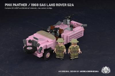 Pink Panther – 1968 SAS Land Rover S2A