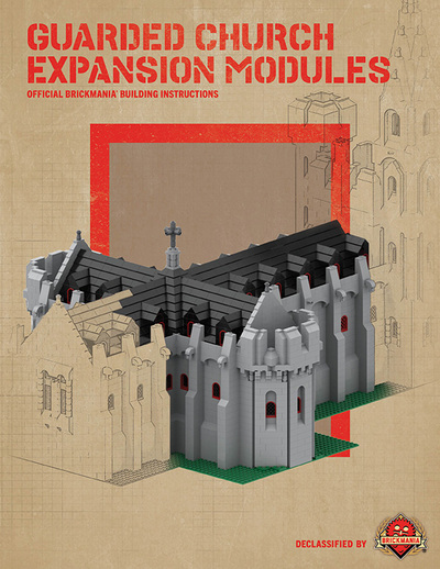 Guarded Church Expansion Modules - Digital Building Instructions