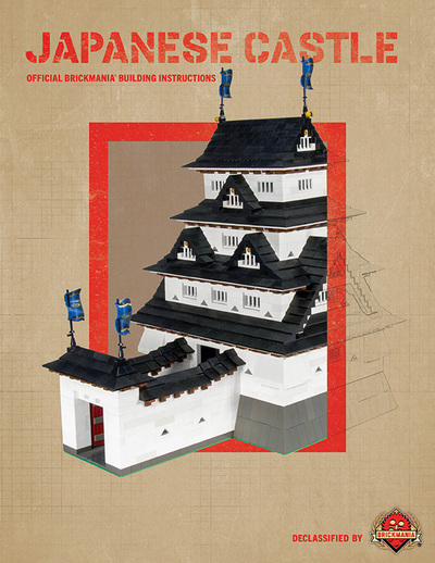 Japanese Castle - Digital Building Instructions