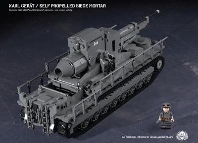 Karl-Gerät – Self Propelled Siege Mortar
