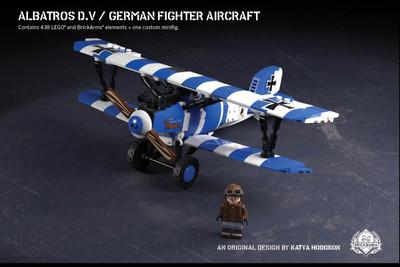 Albatros D.V – German Fighter Aircraft