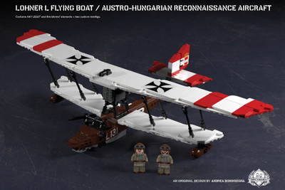 Lohner L Flying Boat – Austro-Hungarian Reconnaissance Aircraft