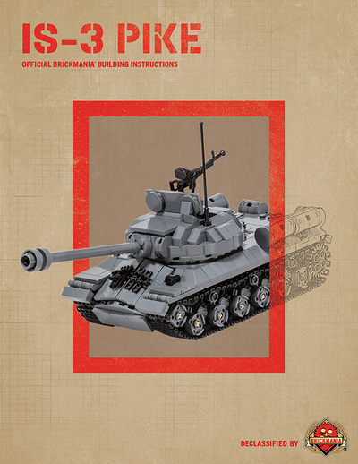 IS-3 Pike - Digital Building Instructions