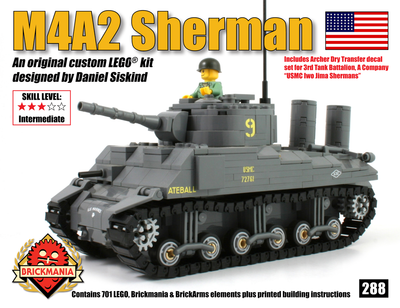 M4A2 Sherman (US Marines 3rd Tank Battalion)
