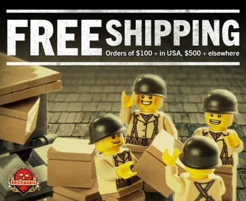 Free Shipping from Brickmania!