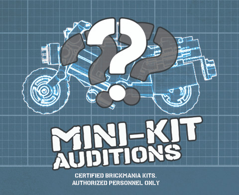 Brickmania® Mini-Kit Design Auditions