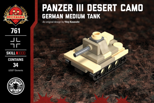 CUSTOM building INSTRUCTION WW2 PANZER II Luchs TANK to
