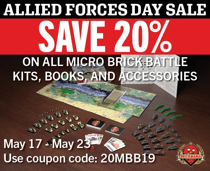 Save 20% on Micro Brick Battle!
