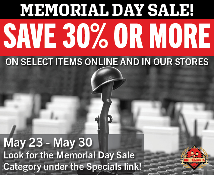 More Memorial Day Sales!