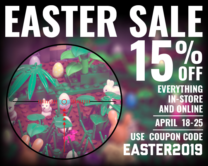 Brickmania Easter Sale 15% off!