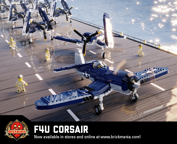 F4U Corsair - WWII Carrier-Based Fighter-Bomber