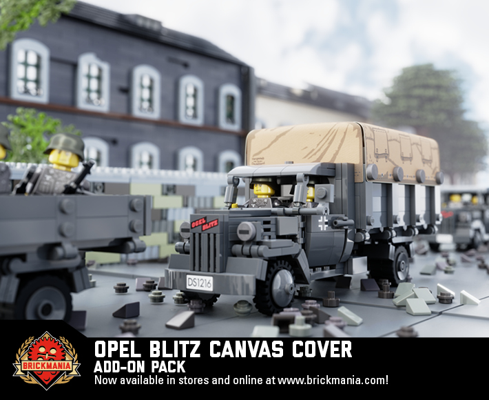 Opel Blitz Canvas Cover - Add-On Pack