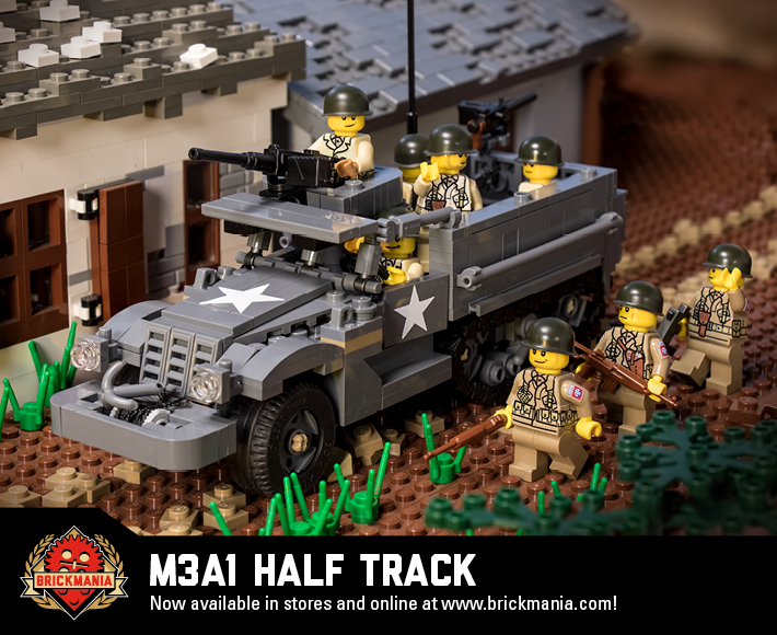M3A1 Half Track - Armored Personnel Carrier
