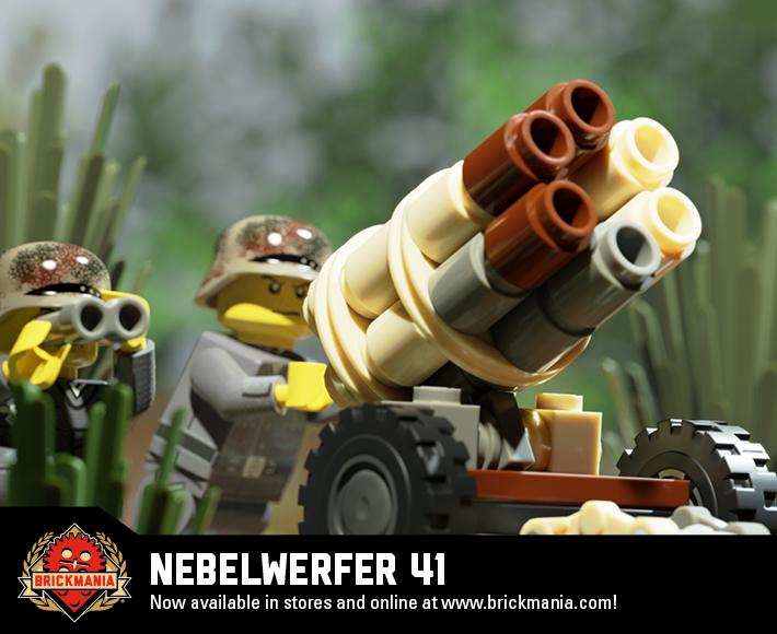 Nebelwerfer 41 - 15cm Rocket Launcher