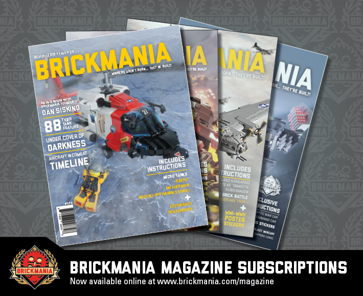 Brickmania Magazine Subscriptions