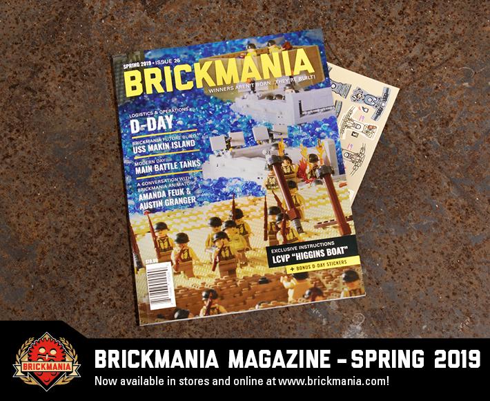 Brickmania Magazine Issue #25 Spring 2019