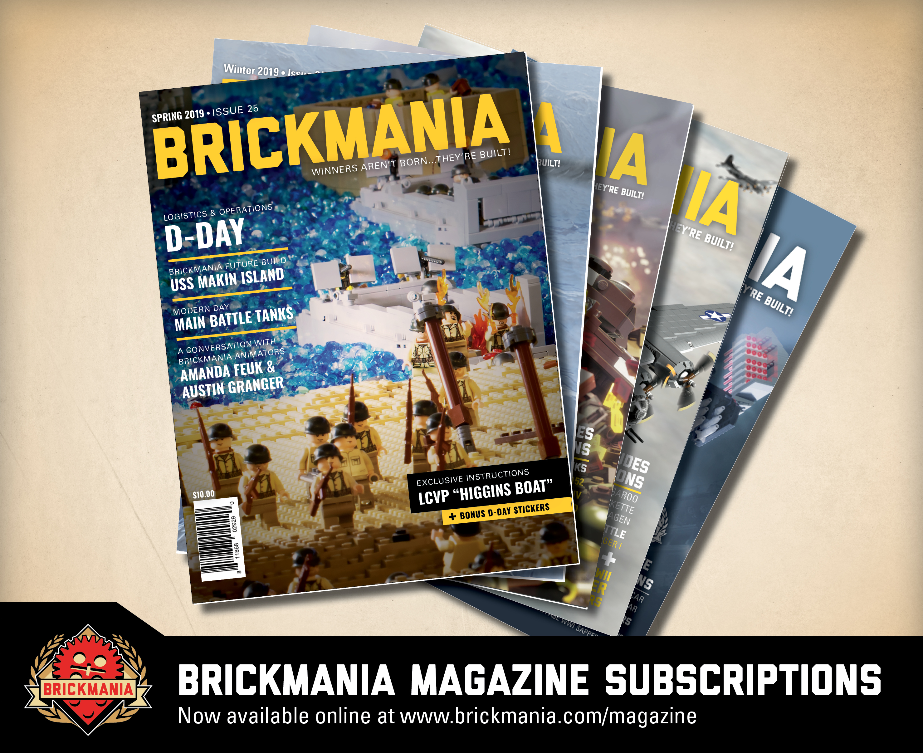 Brickmania Magazine 4-Issue Subscription