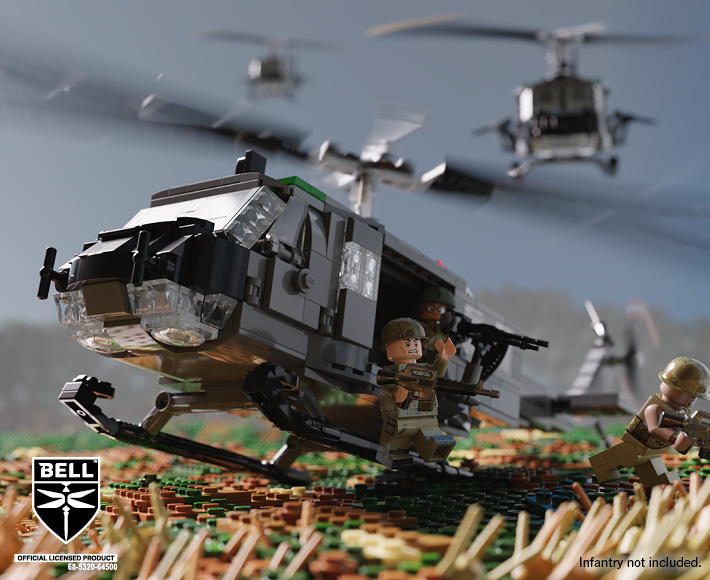 Bell® UH-1D Huey™ - Utility Military Helicopter