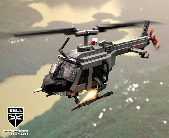 Bell® OH-58A™ Kiowa - Light Scout Helicopter