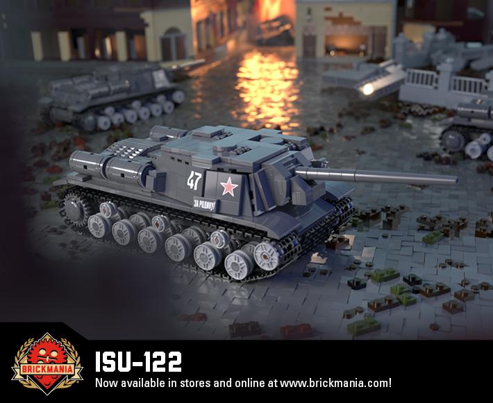 ISU-122 - Heavy Self-Propelled Gun