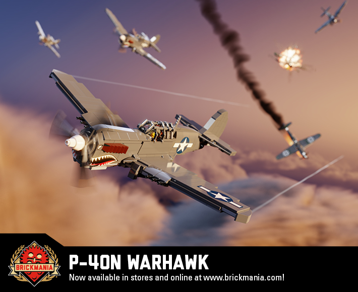 P-40N Warhawk - WWII Fighter